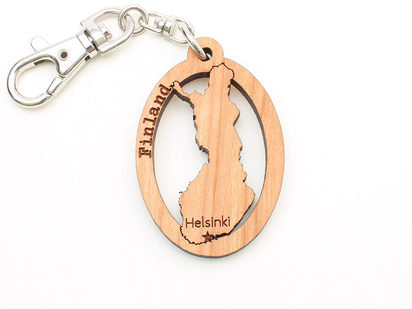 Touch of Finland Cut Out Key Chain
