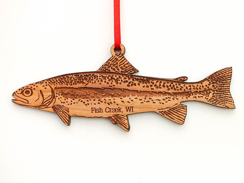 Beach People Rainbow Trout Ornament