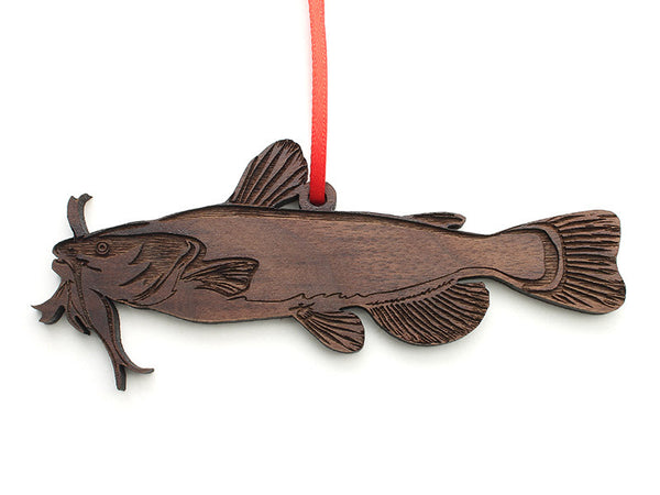Flathead Catfish Ornament - Nestled Pines