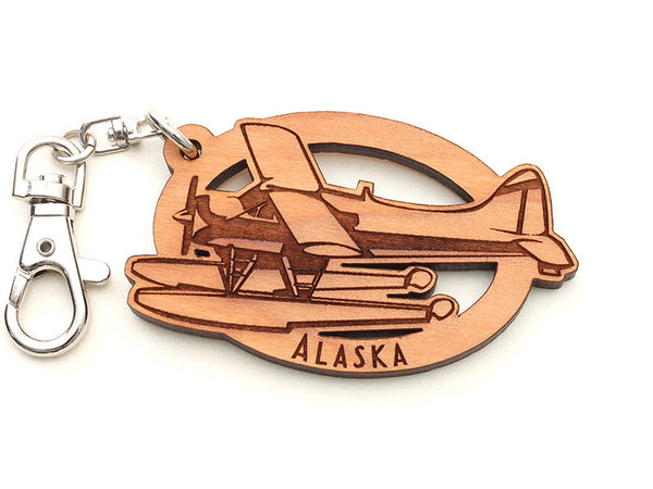Alaska Float Plane Key Chain