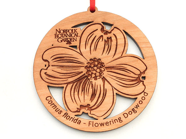 Norfolk Botanical Garden Flowering Dogwood Ornament