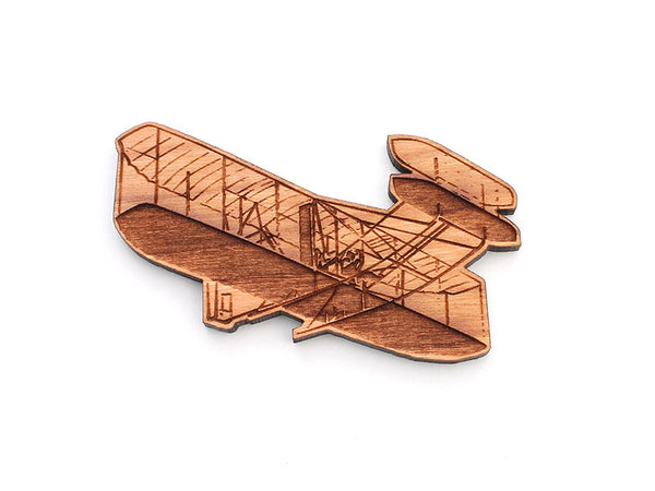 Dayton Aviation Wright Flyer III Magnet - Nestled Pines