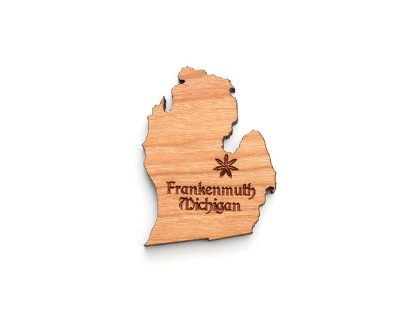 Frankenmuth Michigan State Magnet - Nestled Pines