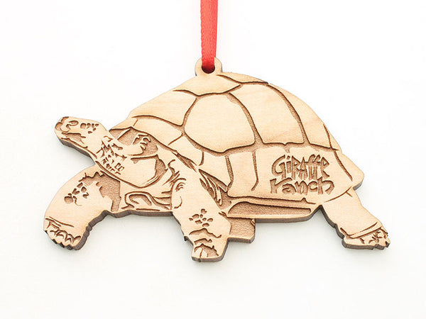Giraffe Ranch Galapagos Tortoise Ornament