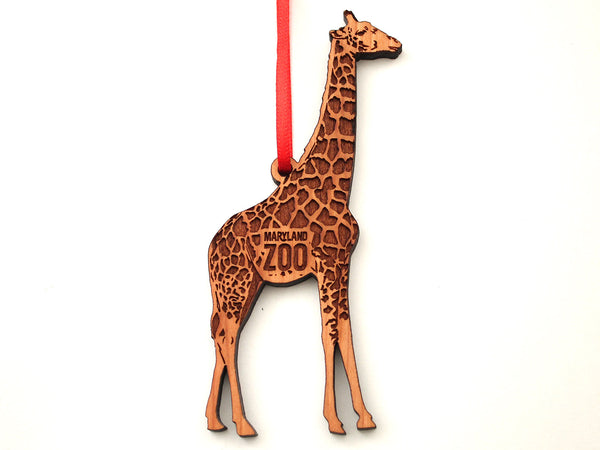 Maryland Zoo Giraffe Ornament
