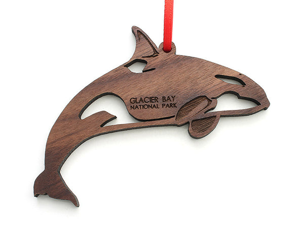 Glacier Orca Ornament - Nestled Pines