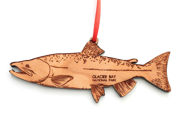Glacier Salmon Ornament - Nestled Pines