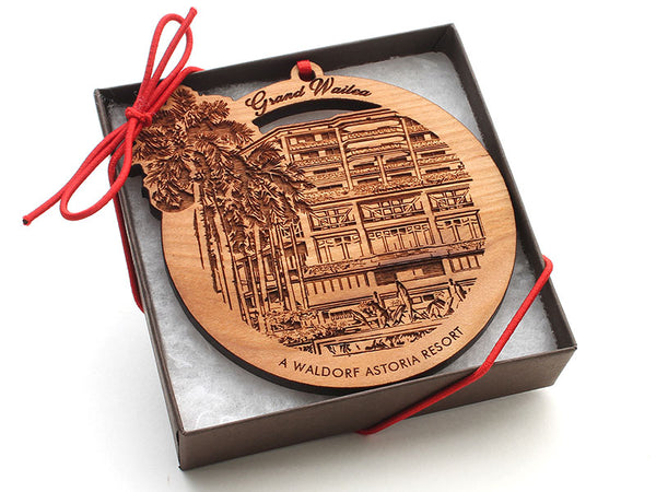 KSL Resorts Grand Wailea Ornament