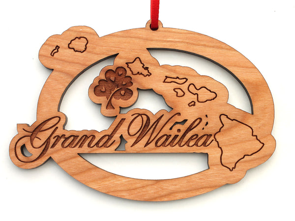 KSL Resorts Grand Wailea Hawaii Logo Ornament