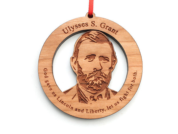 Ulysses S. Grant Ornament - Nestled Pines