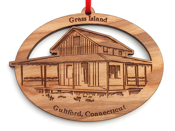 Page Hardware Grass Island Oval Ornament