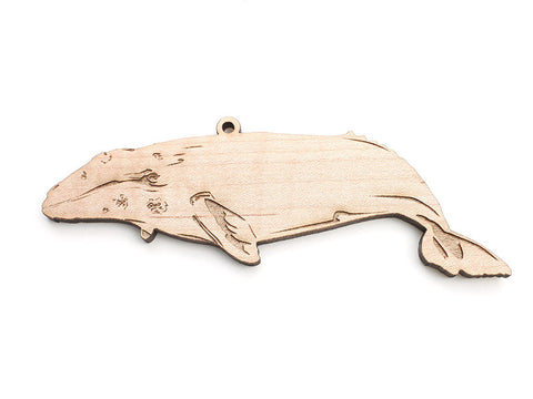 Gray Whale Ornament - Nestled Pines