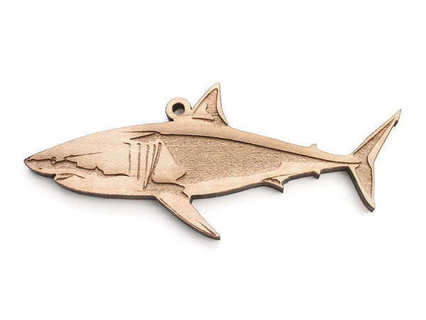 Great White Shark Ornament A - Nestled Pines
