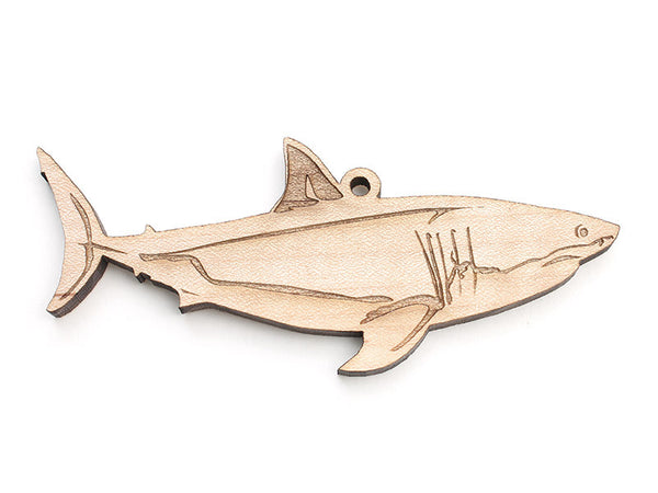 Great White Shark Ornament B - Nestled Pines