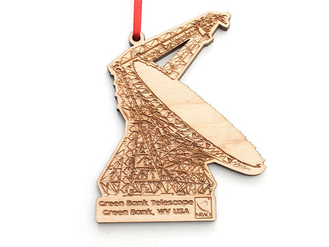 Green Bank Telescope Ornament - Nestled Pines