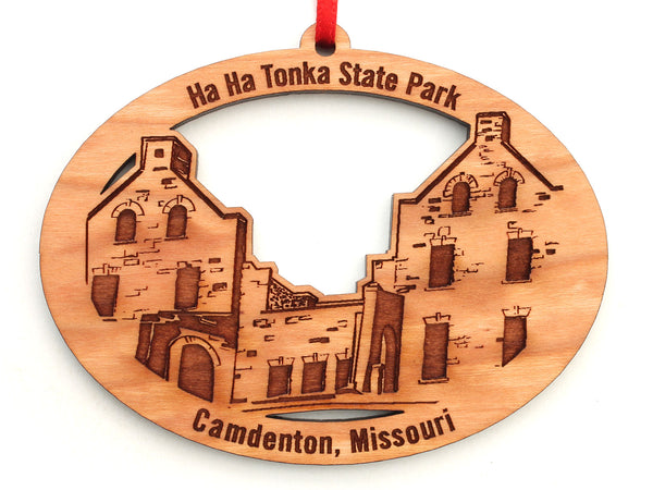 Ha Ha Tonka Ornament