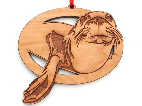 Hawaiian Monk Seal Ornament