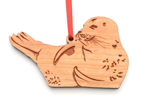 Harbor Seal Ornament - Nestled Pines