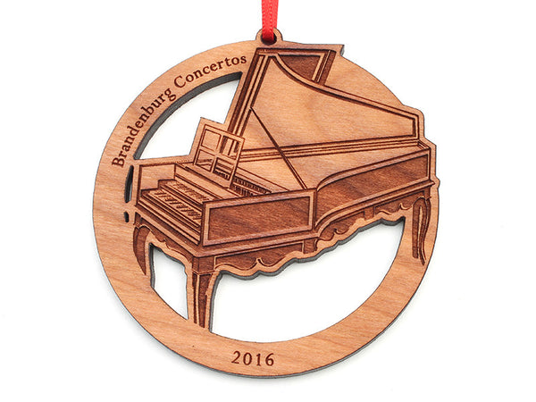 Brandenburg Concertos Harpsichord Ornament - Nestled Pines