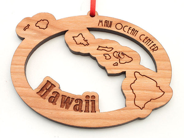 Maui Ocean Center Hawaiian Island Ornament
