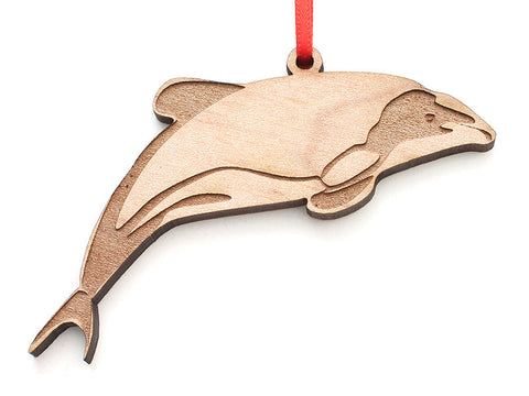 Hector's Dolphin Ornament - Nestled Pines