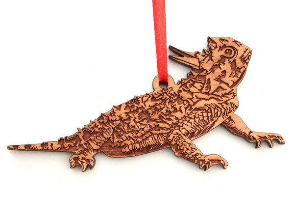 Horned Lizard Ornament