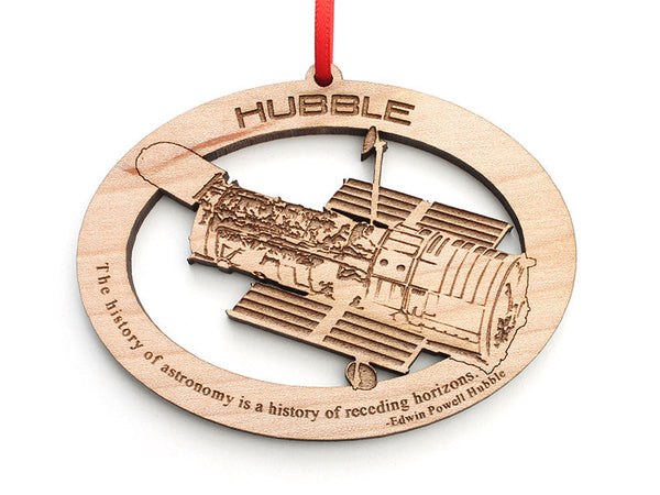 Hubble Telescope Ornament - Nestled Pines
