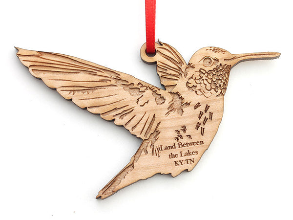 Land Between the Lakes Hummingbird Ornament