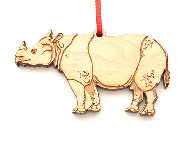 Javan Rhino Ornament