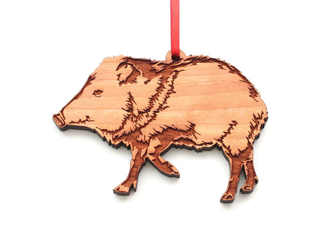 Javelina Ornament
