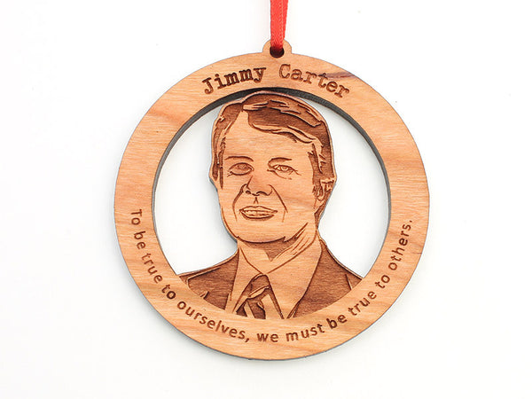 Jimmy Carter Ornament - Nestled Pines