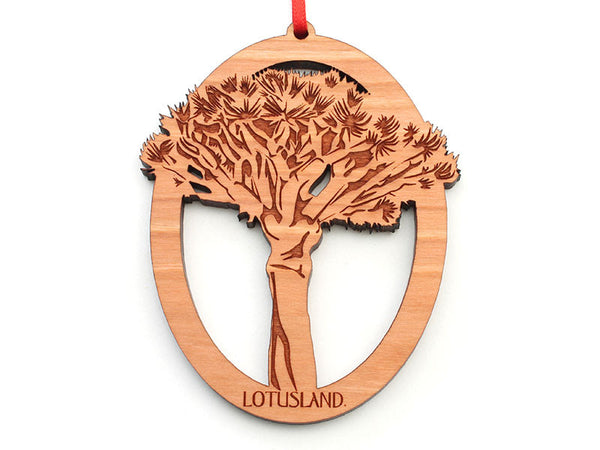 Lotusland Joshua Tree Ornament