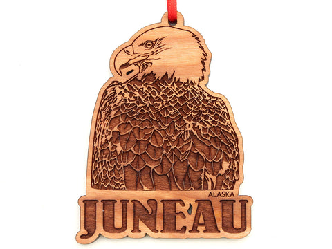 Juneau Alaska Bald Eagle Ornament