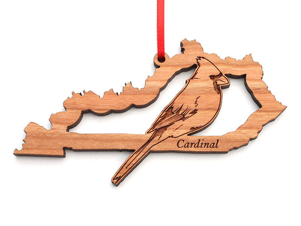Kentucky State Bird Ornament - Cardinal