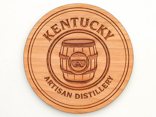Kentucky Artisan Distillery Logo Coaster Set of 4