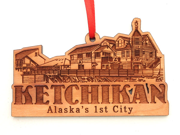 Ketchikan Creek Street Ornament