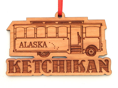 Ketchikan Trolley Ornament