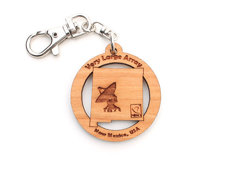 Very Large Array New Mexico State Key Chain - Nestled Pines