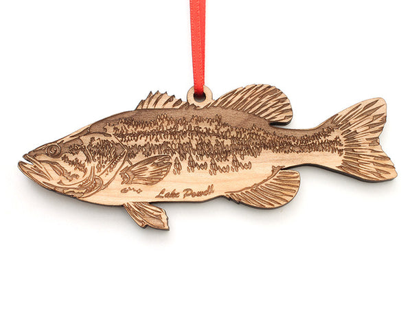 Lake Powell Largemouth Bass Ornament - Nestled Pines