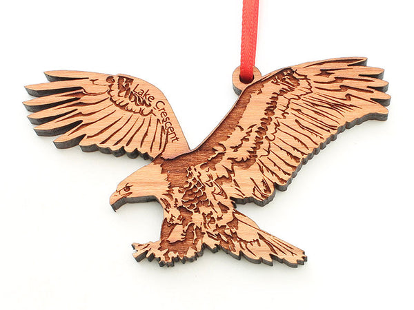 Olympic National Park Lake Crescent Eagle Ornament