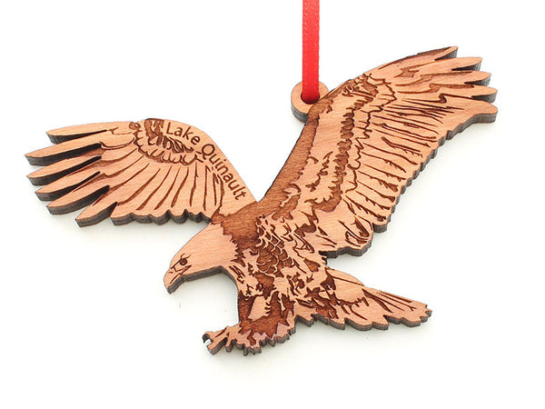 Olympic National Park Lake Quinault Eagle Ornament