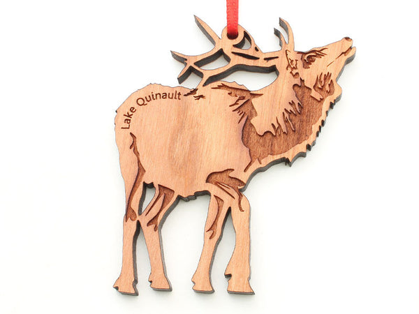 Olympic National Park Lake Quinault Elk Ornament