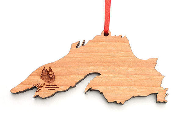 Good Earth Outfitters Lake Superior Ornament - Nestled Pines