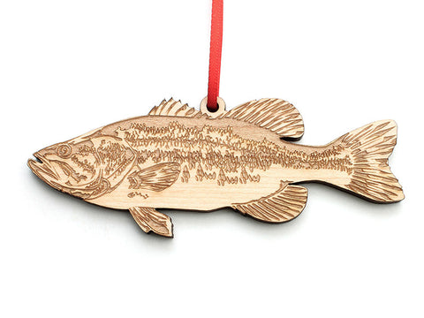Largemouth Bass Ornament - Nestled Pines