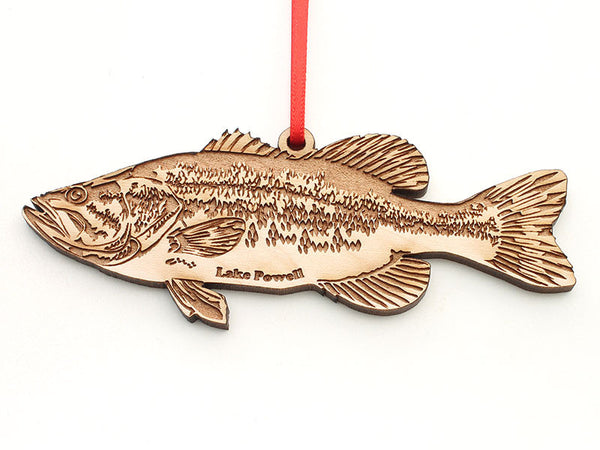 Lake Powell Paddleboards Largemouth Bass Ornament