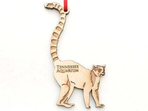 Tennessee Aquarium Lemur Ornament