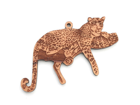 Leopard Ornament - Nestled Pines