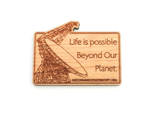 Green Bank Life Is Possible Magnet - Nestled Pines