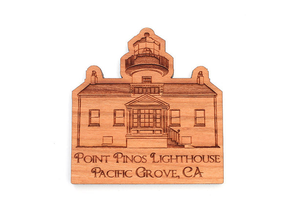 Point Pinos Lighthouse Magnet - Nestled Pines