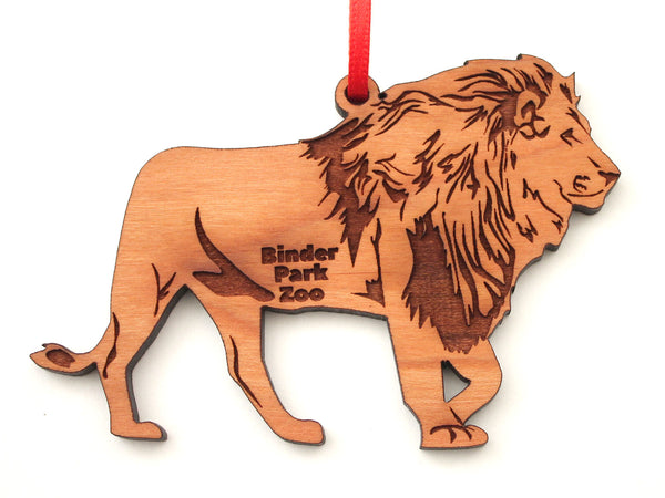 Binder Park Zoo Lion Ornament